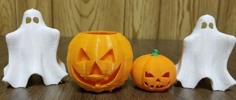 3d printed halloween decorations