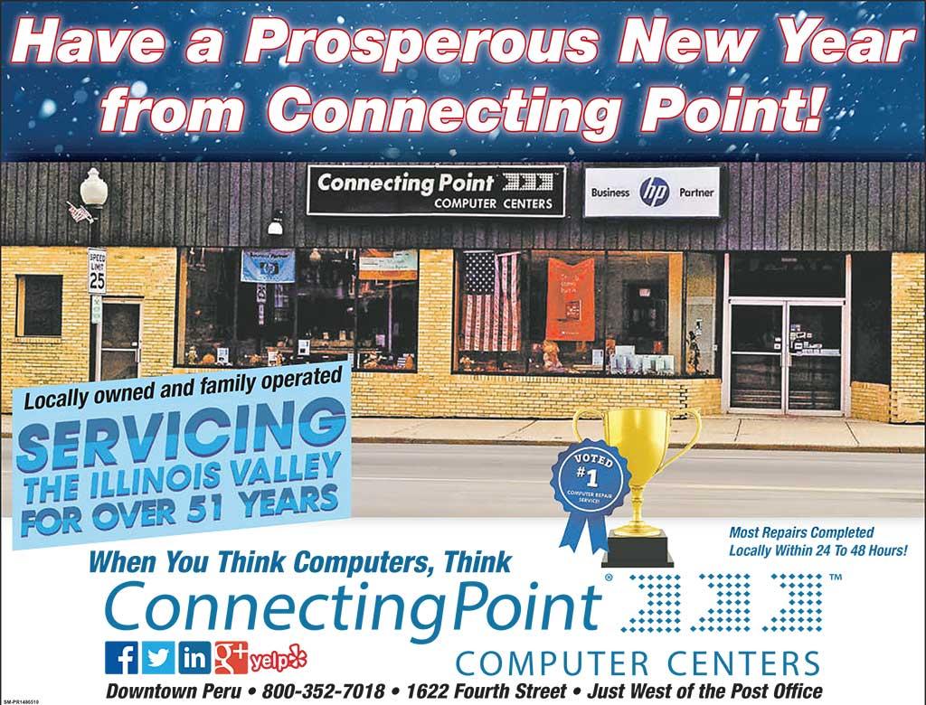 Connecting Point Wishes You a Happy & Prosperous New Year!