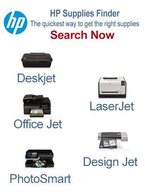 HP Supplies Finder sidebar