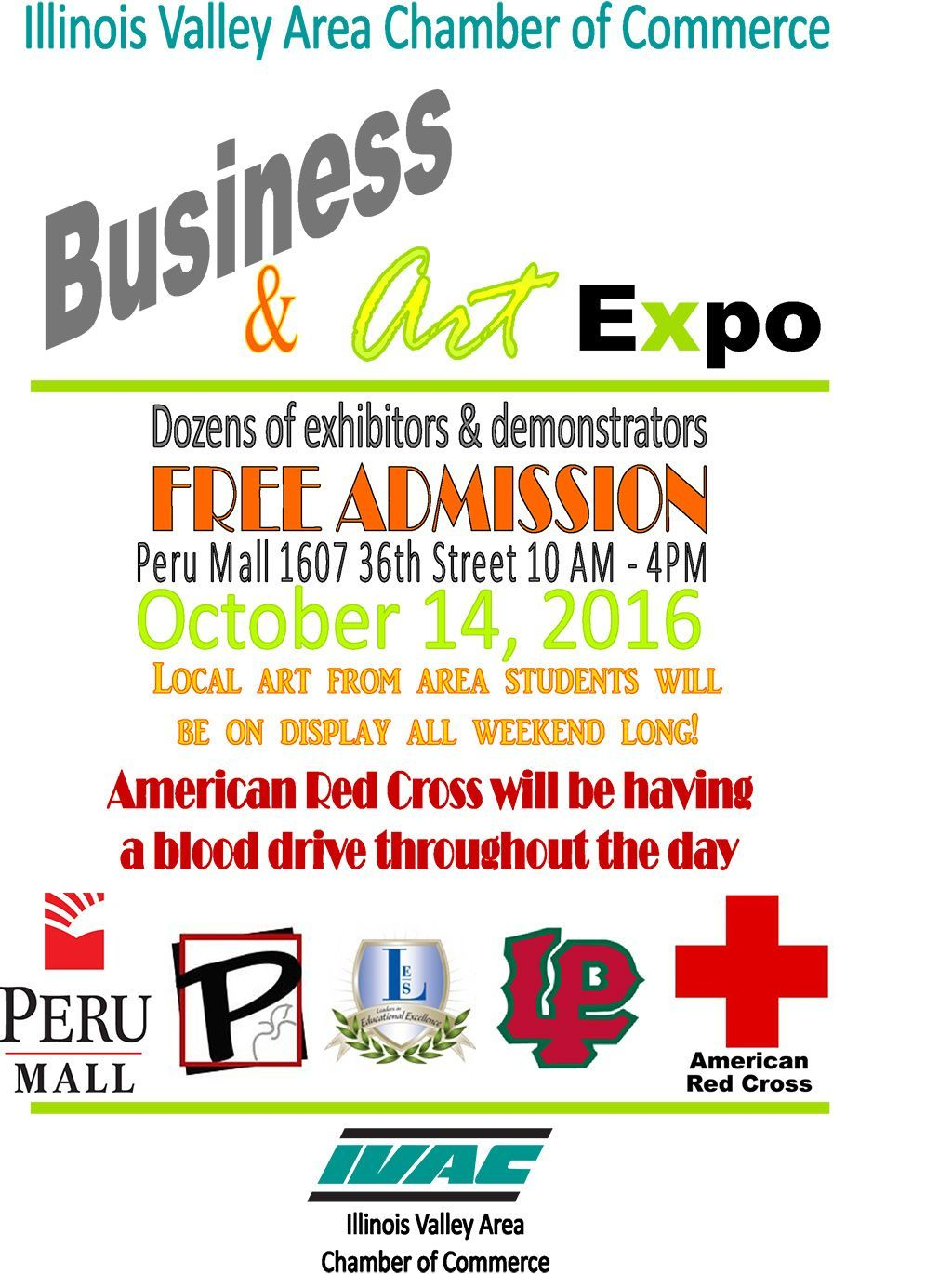 IVAC Business and Art Expo 10 14 16
