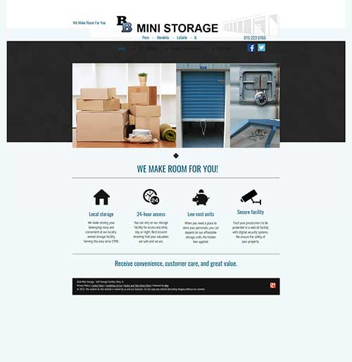 bnb mini storage old website