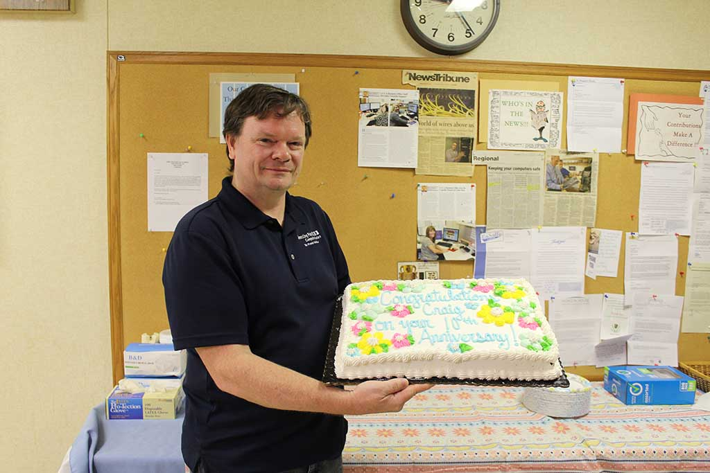 craig searl 10 year anniversary at cpcc