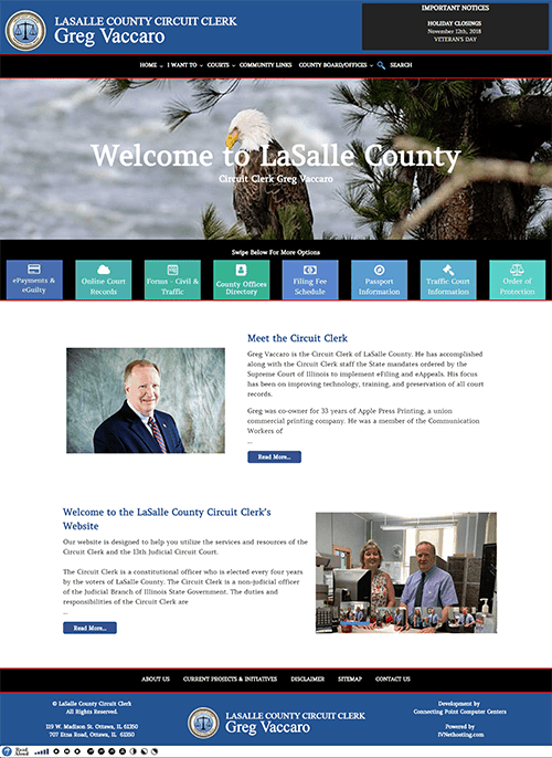Responsive website design and accessible website design by Connecting Point.