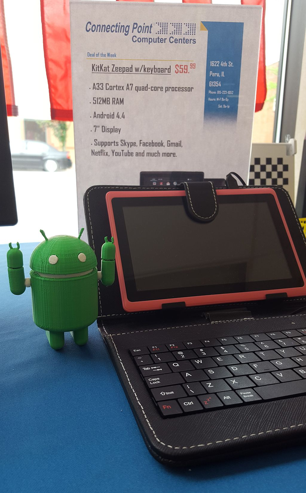 makerbot android robot 3d printing