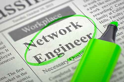 network engineer wanted