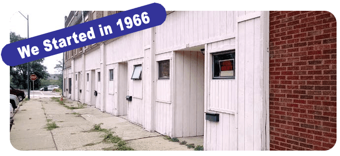 We started in 1966 at 111 Wright Street, LaSalle, Illinois