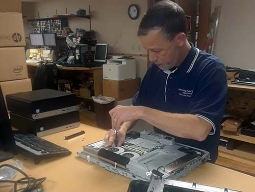 pc laptop warranty repair service by Matt Staats at Connecting Point