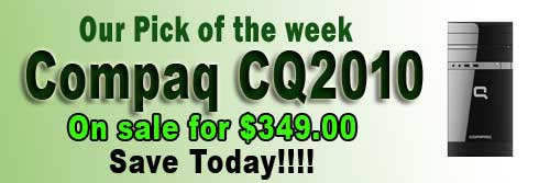 Our Pick of the Week for January 30, 2012 - Compaq CQ2010