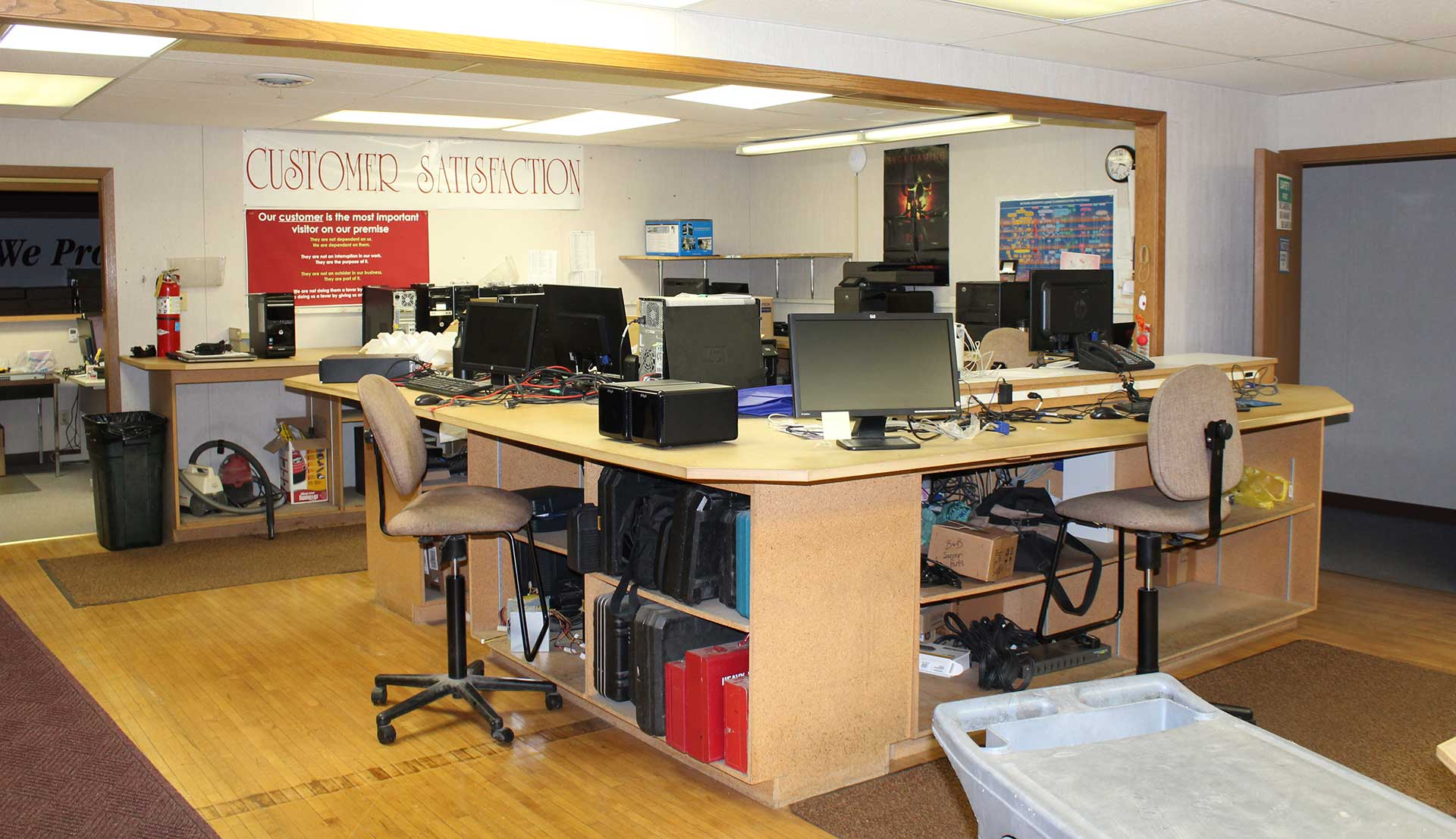 Service & Support from Connecting Point Computer Center